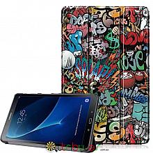 Чехол Samsung Galaxy tab a 10 t580 t585 Print ultraslim graphity