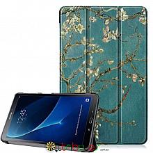 Чехол Samsung Galaxy tab a 10 t580 t585 Print ultraslim bloomy tree