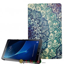 Чехол Samsung Galaxy tab a 10 t580 t585 Print ultraslim pattern blue