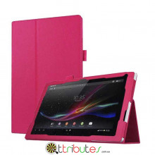 Чехол Sony Xperia Tablet Z4 10,1 SGP771, SGP712 Classic book cover rose red