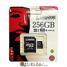 Kingston карта памяти 256GB MicroSD XC1 для планшета смартфон