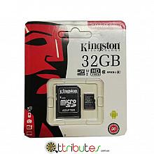 Kingston карта памяти 32GB MicroSD XC1 для планшета смартфон