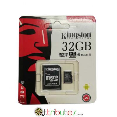 Kingston карта пам'яті 32GB MicroSD XC1 для планшета смартфону