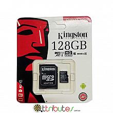Kingston карта памяти 128GB MicroSD XC1 для планшета смартфон