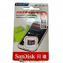 SanDisk карта памяти 64GB MicroSDXC UHS-1 для планшета смартфон