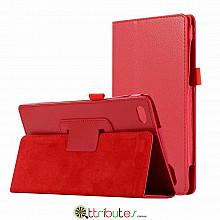 Чехол Lenovo Tab 4 TB-7504X 7.0 Classic book cover red