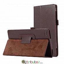 Чехол Lenovo Tab 4 TB-7504X 7.0 Classic book cover brown