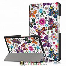 Чехол HUAWEI MediaPad M6 8.4  Print ultraslim butterfly