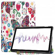 Чехол HUAWEI MediaPad M6 10.8  Print ultraslim butterfly