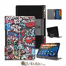 Чохол Lenovo Yoga Smart Tab YT-X705F 10.1 Print ultraslim graphity