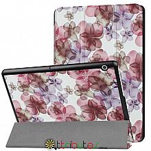 Чехол HUAWEI MediaPad T3 10 9.6 AGS-L09 AGS-W09 Print ultraslim flowers