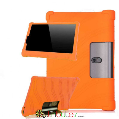 Чехол Lenovo Yoga Smart Tab YT-X705F 10.1 Silicone orange