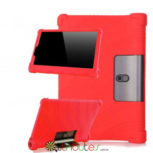 Чехол Lenovo Yoga Smart Tab YT-X705F 10.1 Silicone red