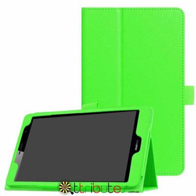 Чехол HUAWEI MediaPad T3 8.0 KOB-W09 L09 Classic book cover apple green