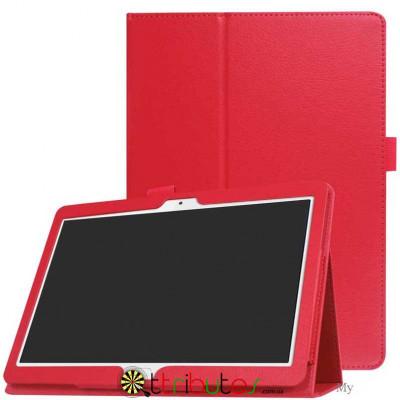 Чехол HUAWEI MediaPad M5 Lite 10.1 Classic book cover red
