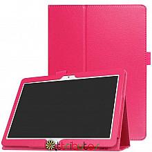 Чехол HUAWEI MediaPad M5 Lite 10.1 Classic book cover rose red