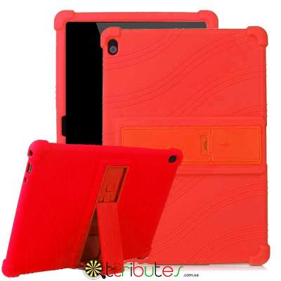 Чохол Lenovo TAB 5 P10 TB-X705F 10.1 Silicone red