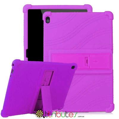 Чохол Lenovo TAB 5 P10 TB-X705F 10.1 Silicone purple