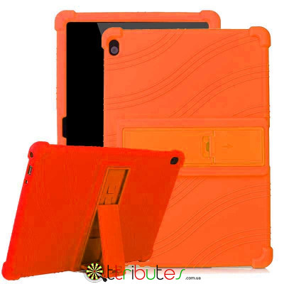 Чехол Lenovo Tab M10 TB-X605L X505 10.1 Silicone orange