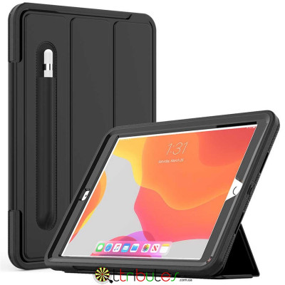 Чохол iPad 2019 10.2 Armor book cover black