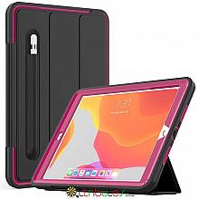 Чохол iPad 2019 10.2 Armor book cover black-purple