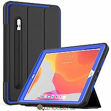 Чохол iPad 2019 10.2 Armor book cover black-dark blue
