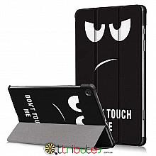 Чехол Samsung Galaxy Tab S6 lite 10.4 sm-p610  Print ultraslim don't touch