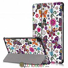 Чехол Samsung Galaxy Tab S6 lite 10.4 sm-p610  Print ultraslim butterfly