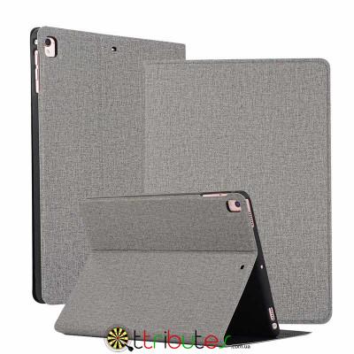 Чохол iPad 2017 2018 9.7 Textile gum book grey