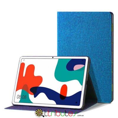 Чохол HUAWEI Matepad 10.4 Textile gum book blue