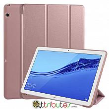 Чехол HUAWEI MediaPad T5 10 Gum ultraslim rose gold