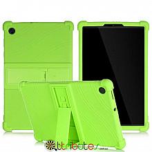 Чохол Lenovo Tab M10 Plus FHD TB-X606 10.3 2020 Silicone apple green