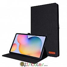 Чехол Samsung Galaxy Tab S6 lite 10.4 sm-p610 Textile gum book black