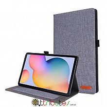 Чехол Samsung Galaxy Tab S6 lite 10.4 sm-p610 Textile gum book grey