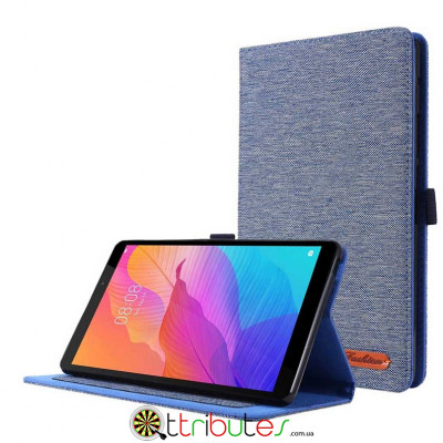 Чохол HUAWEI Matepad T8 8.0 KOBE2-W09A Textile fashion book dark blue
