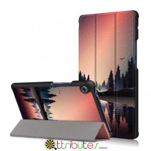 Чехол HUAWEI Matepad T8 8.0 KOBE2-W09A Print ultraslim lake