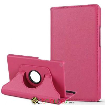 Чехол HUAWEI MediaPad T3 8.0 KOB-W09 L09 360 градусов rose red