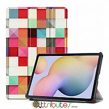 Чехол Samsung Galaxy Tab S7 11 2020 SM-T875 SM-T870  Print ultraslim square