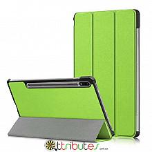 Чехол Samsung Galaxy Tab S7 11 2020 SM-T875 SM-T870 Moko ultraslim apple green