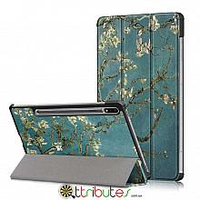 Чехол Samsung Galaxy Tab S7 11 2020 SM-T875 SM-T870  Print ultraslim bloomy tree