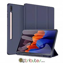 Чохол Samsung Galaxy Tab S7 Plus 12.4 2020 SM-T975 SM-T970 Gum ultraslim dark blue