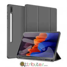 Чохол Samsung Galaxy Tab S7 Plus 12.4 2020 SM-T975 SM-T970 Gum ultraslim grey