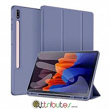 Чохол Samsung Galaxy Tab S7 Plus 12.4 2020 SM-T975 SM-T970 Gum ultraslim lilac