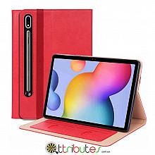 Чохол Samsung Galaxy Tab S7 Plus 12.4 2020 SM-T975 SM-T970 Premium classic red