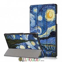 Чехол Samsung Galaxy Tab A7 10.4 2020 SM-T505 SM-T500  Print ultraslim night
