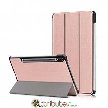 Чохол Samsung Galaxy Tab S7 Plus 12.4 2020 SM-T975 SM-T970 Moko ultraslim rose gold