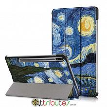 Чохол Samsung Galaxy Tab S7 Plus 12.4 2020 SM-T975 SM-T970 Print ultraslim night
