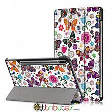 Чехол Samsung Galaxy Tab S7 Plus 12.4 2020 SM-T975 SM-T970  Print ultraslim butterfly