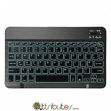 Universal bluetooth keyboard с подсветкой для планшетов SmartTV