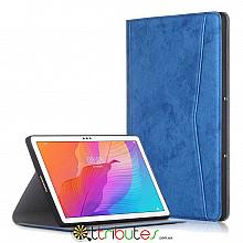 Чохол HUAWEI Matepad T10s T10 10.1 Fashion textile book dark blue